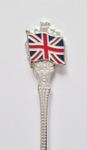 SILVER-PLATED COLLECTORS SPOONS
